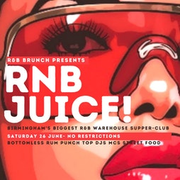 RNB Juice - Supper Club Opening Party Tickets | Nightingale Club Birmingham  | Sat 24th July 2021 Lineup