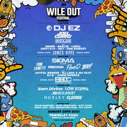 Wile Out Festival  Tickets | Towneley Park Burnley BB11 Burnley  | Sun 29th August 2021 Lineup