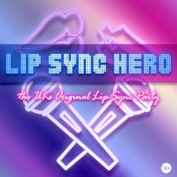 Lip Sync Hero    Barras Art And Design (BAaD) Glasgow    Thu 16th September 2021 Lineup