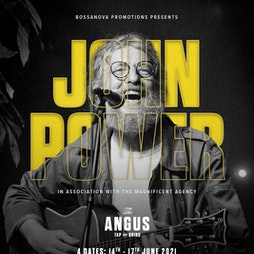 John Power at The Angus Tickets | The Angus Tap And Grind Liverpool  | Tue 15th June 2021 Lineup