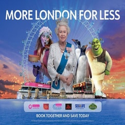 Merlin's Magical London: 3 Attractions In 1 – The Lastminute.com London Eye + Madame Tussauds + The London Dungeon   The London Eye  London    Mon 2nd August 2021 Lineup