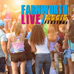 Farnworth Live 2021 Tickets   Farnworth Cricket And Bowling Club Bolton    Sat 25th September 2021 Lineup