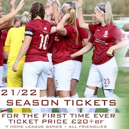 Hastings United Womens 2021/22 Season Tickets Tickets  Tickets | The TGS Pilot Field Hastings  | Sun 12th September 2021 Lineup