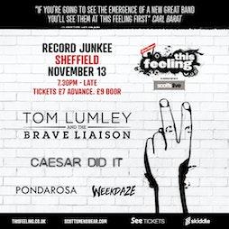 This Feeling - Sheffield  Tickets | Record Junkee Sheffield  | Sat 13th November 2021 Lineup