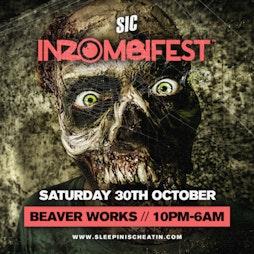 INZOMBIFEST Tickets | Beaver Works Leeds  | Sat 30th October 2021 Lineup