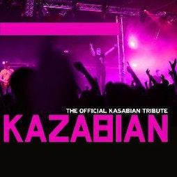 Kazabian - Kasabian tribute | Live Room Cleckheaton  | Sat 10th April 2021 Lineup