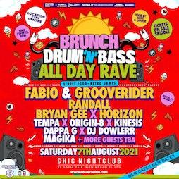 Brunch DnB Festival Tickets | CHIC Nightclub  Birmingham  | Sat 7th August 2021 Lineup