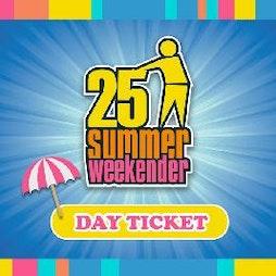 The Tidy 25 Weekender Tickets | Pontins Prestatyn  | Sat 10th July 2021 Lineup