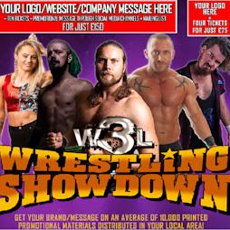 W3L Wrestling Showdown - Edinburgh   Southside Community Centre Edinburgh    Fri 15th October 2021 Lineup