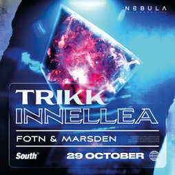 Nebula Sounds present Trikk and Innellea Tickets | South Manchester  | Fri 29th October 2021 Lineup