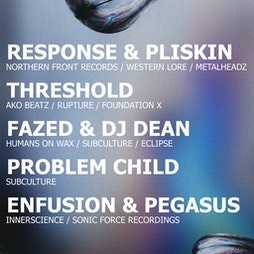 Humans on Wax x Subculture: Response & Pliskin & Threshold  Tickets   Catch 22 Coventry    Fri 24th September 2021 Lineup