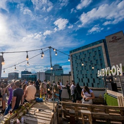 babylon ∆ cardiff ~ summer of love ~ 2nd sitting Tickets | Jacobs Roof Garden Cardiff  | Sat 10th July 2021 Lineup