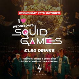 i ❤ wednesdays HALLOWEEN Tickets | The Sanctuary Glasgow Glasgow  | Wed 27th October 2021 Lineup