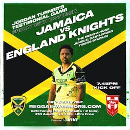 Jamaica Rugby League vs England Knights Tickets | Castleford Tigers Castleford  | Fri 15th October 2021 Lineup