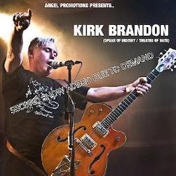 Kirk Brandon Tickets | THE VICTORIA BIKERS PUB COALVILLE  | Sun 6th December 2020 Lineup