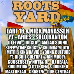 The ROOTS YARD Reunion Tickets | 2funky Lounge Leicester  Leicester   | Fri 30th July 2021 Lineup